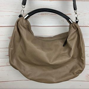 Kenneth Cole Reaction Brown Faux Leather Handbag